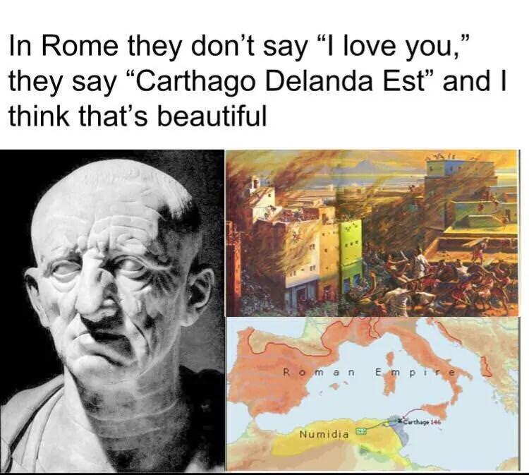 Carthage History Meme