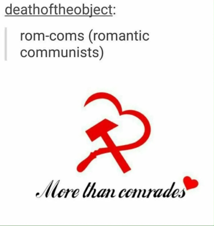 Romantic Communist History Meme