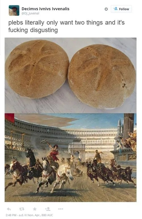 roman history meme