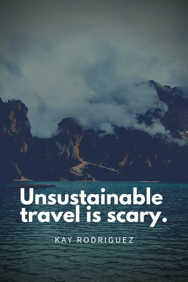 Sustainable Travel Quotes