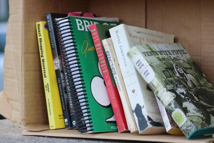 Canada - Montreal - Books - Pixabay