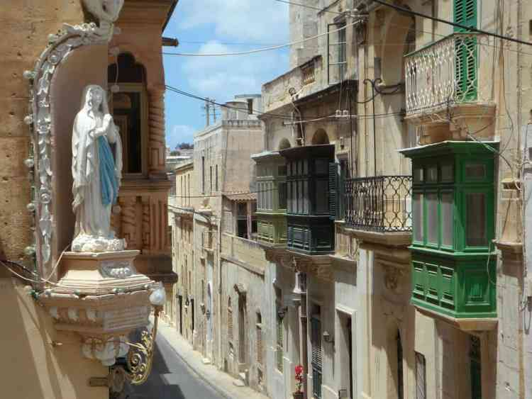 Malta - Valletta - Malta Balcony - Pixabay