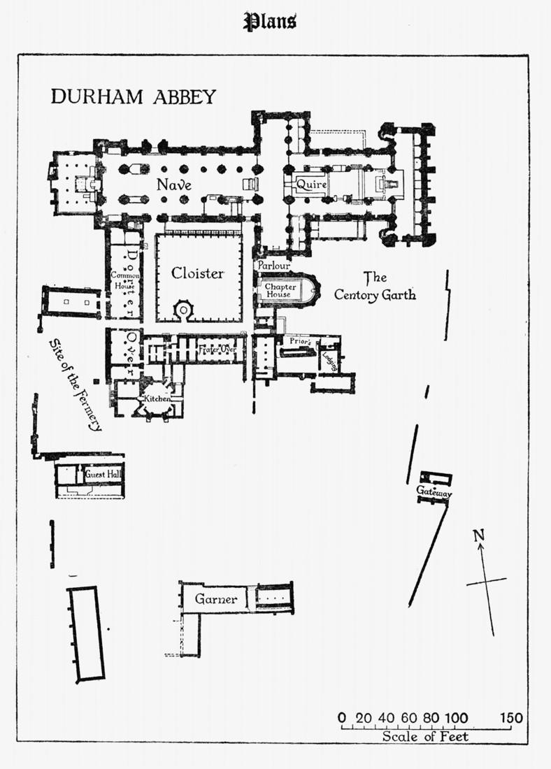 Historyfish.net Durham Map