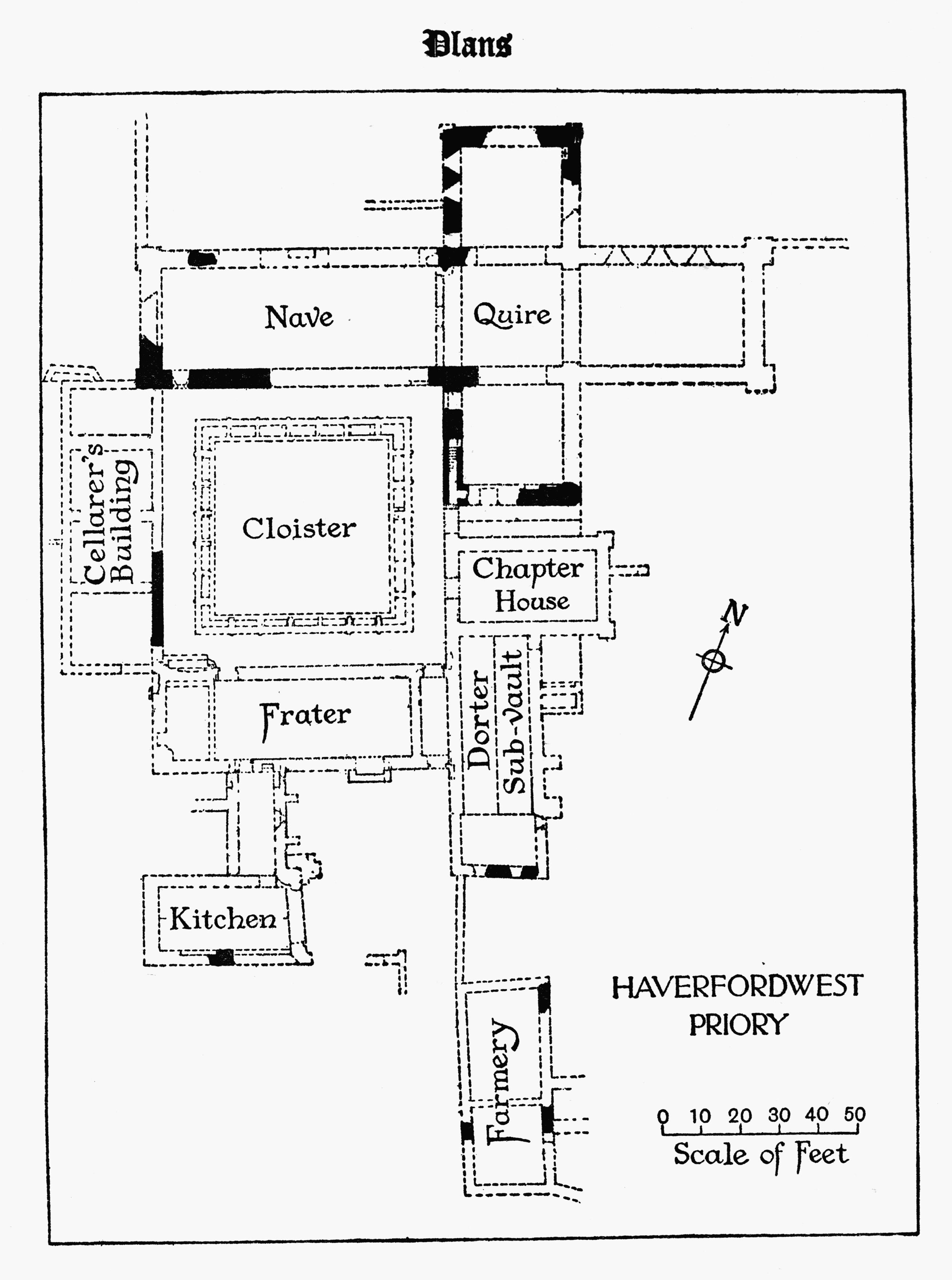 Historyfish Haverfordwest Map
