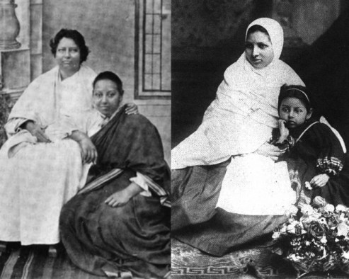 Pandita Ramabai Sarasvati was an activist and a feminist. She had done many great works for women rights and education. Manorama, Ramabais daughter, was a principal.