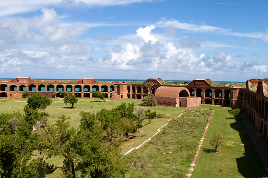 Fort Jefferson Parade Ground