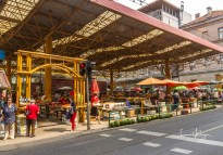 Entrance to the market.