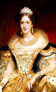Queen Adelaide : queen, adelaide, Queen, Adelaide, (1792-1849)