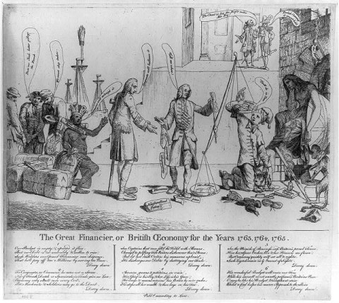 george grenville stamp act 1765
