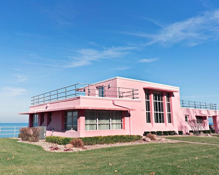 Pink Century of Progress Pink House