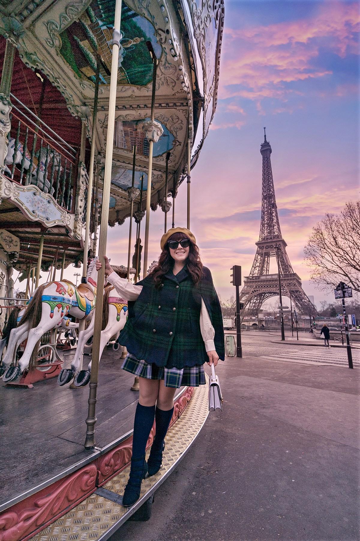 History in High Heels, Paris, Eiffel Tour