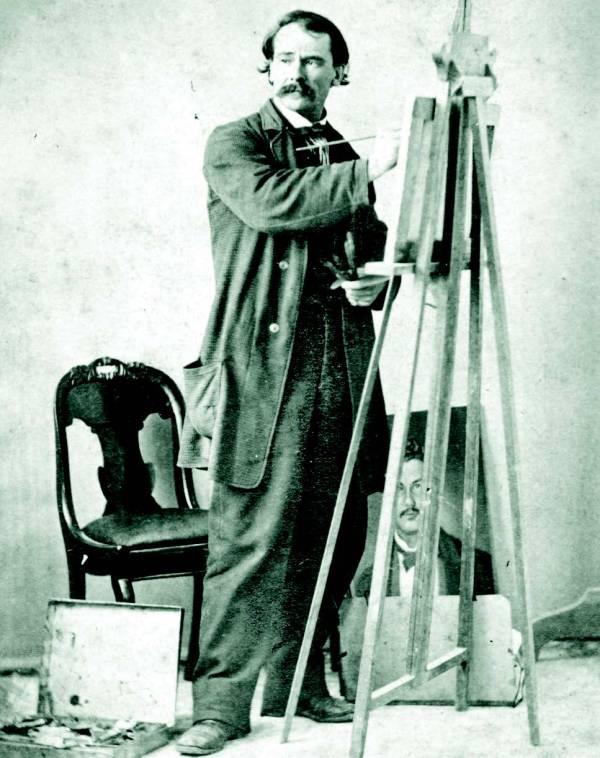 Carl G. von Iwonski, circa 1850.