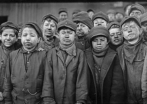 Children in the coal mines