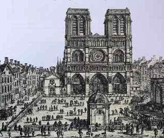 Notre Dame De Paris Probably The Most Famous Of All Gothic Buildings