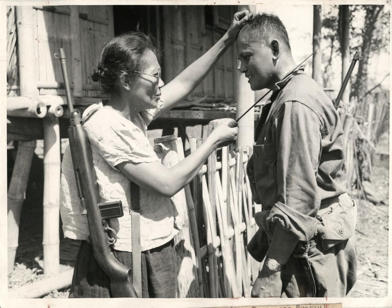 Stunning Image of Nieves Fernandez and Andrew Lupiga in 1944