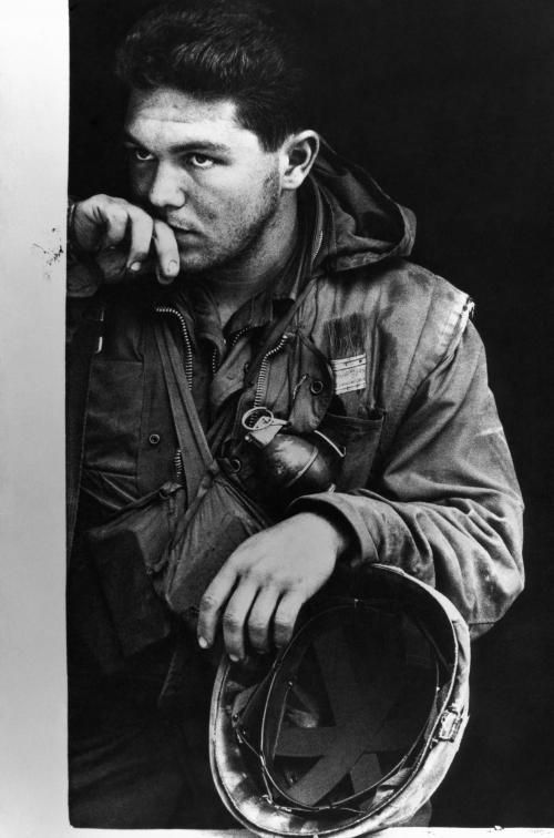 Amazing Historical Photo of Don McCullin in 1968