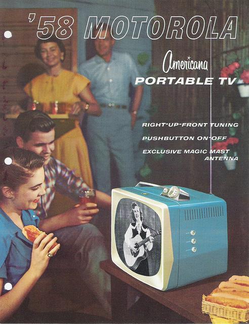 Amazing Historical Photo of Motorola in 1958