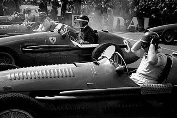 Check Out What Pole and Alberto Ascari Looked Like  on 7/1953