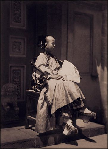 What Did Portrait Of Manchu Look Like  in 1861