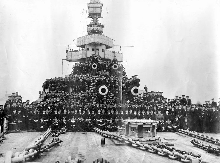 What Did David Beatty and HMS Lion Look Like  in 1916