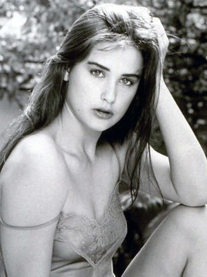 This is What Demi Moore Looked Like  in 1981
