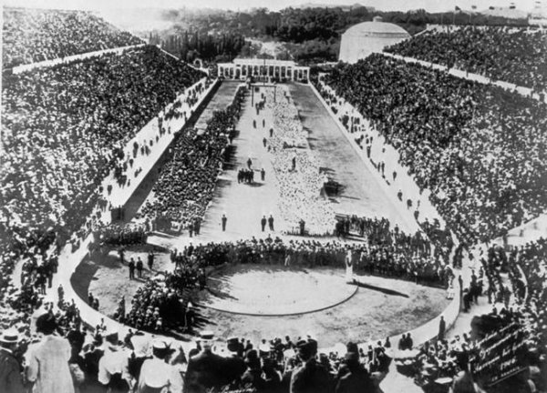 Amazing Historical Photo of Olympic Games in 1896