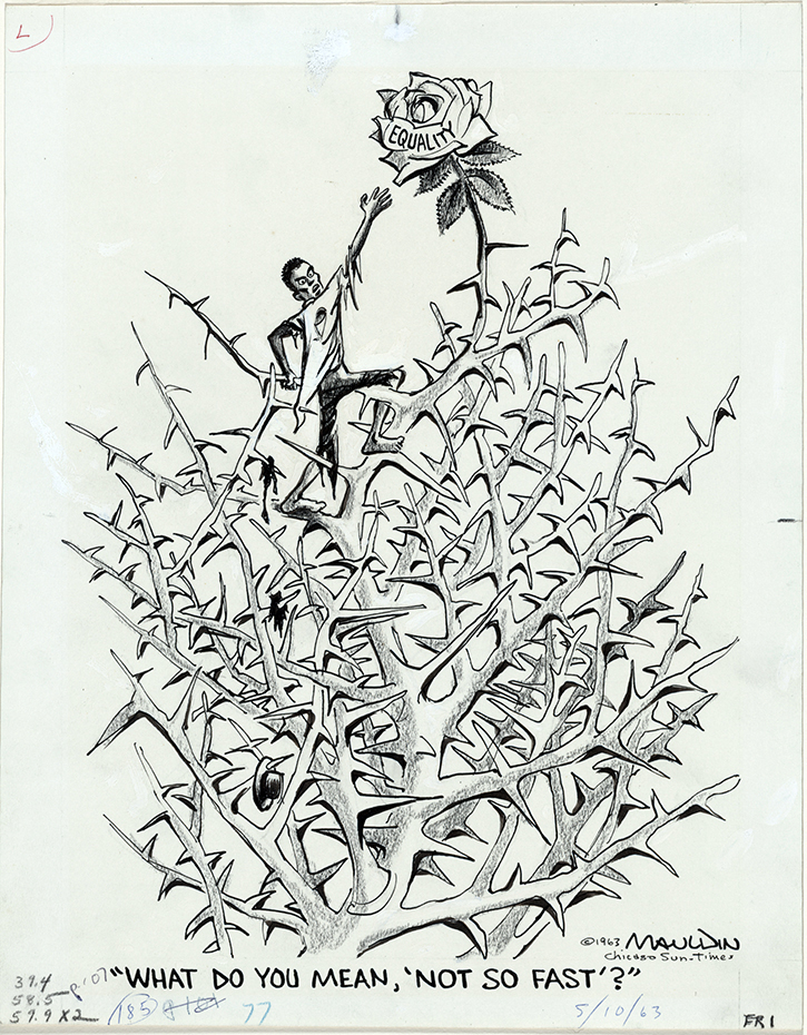 A Cartoonist Portrays the Civil Rights Struggle/Bill