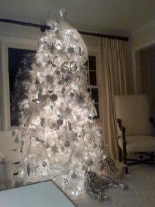 angel hair christmas decoration