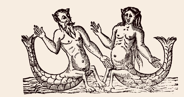 Christoph Fürer saw an Egyptian mermaid