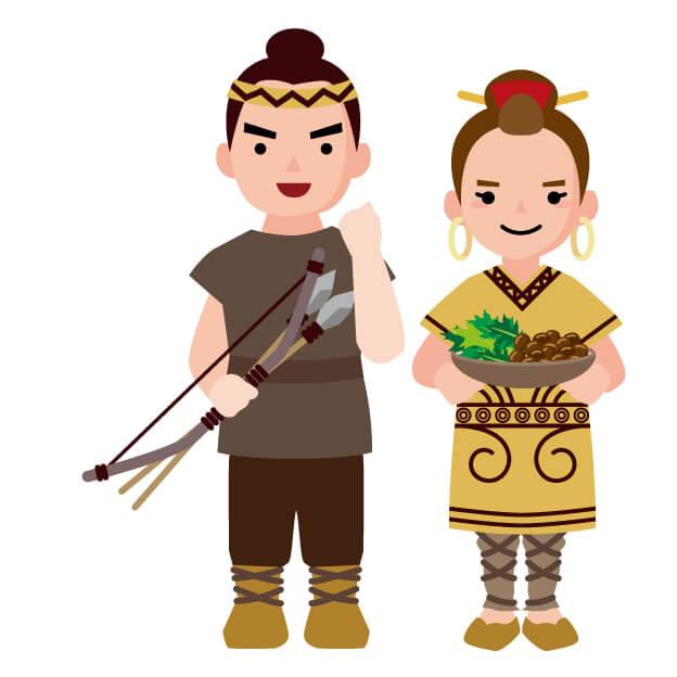 縄文時代の服装