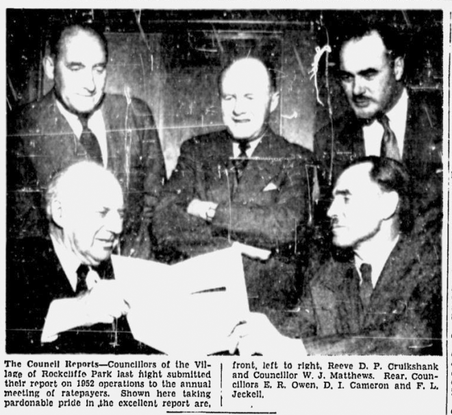 Source: Ottawa Citizen, May 1, 1953