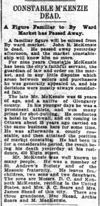 1899-10-27-McKenzie-Dead
