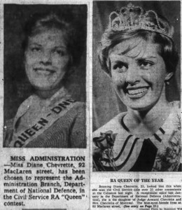 Miss Chevrette victories were both reported.