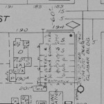 Goad's (1956) depiction of the property.