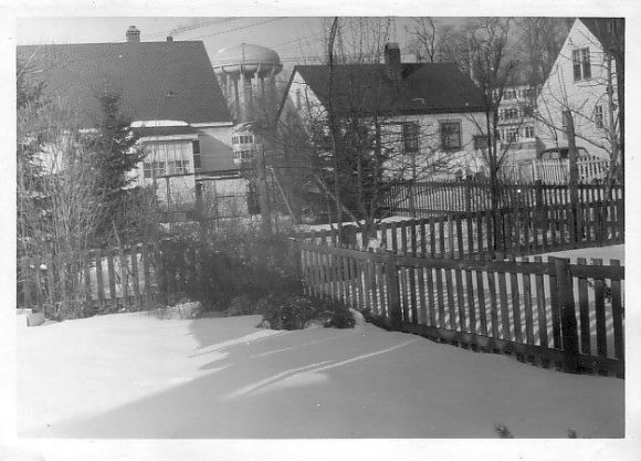 The tower was a presence in the west end. Source: Lost Ottawa (n.d.)