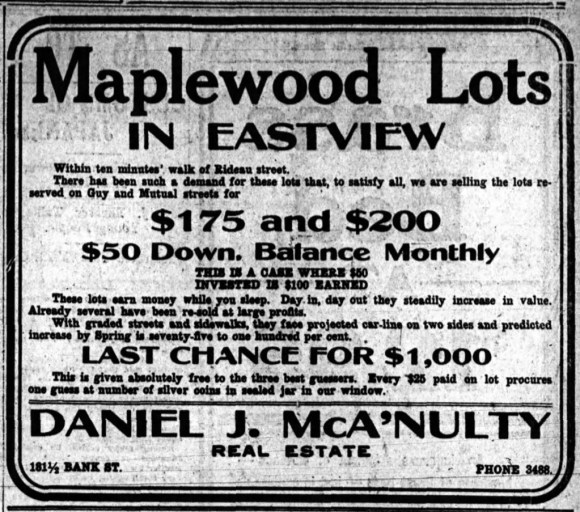 1910-11-22-Maplewood-Lots-Eastview-Sale-Page-7
