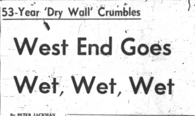 Front page news. Source: Ottawa Journal, January 22, 1962, Page 1.