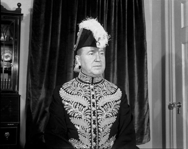Albert E. Matthews, in later days, as Lieutenant Governor of Ontario. Source: Alexandra Studio / City of Toronto Archives, Fonds 1257.