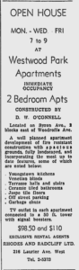"""Constructed by D.W. O'Connell"" Source: Ottawa Citizen, September 6, 1955, p. 42."