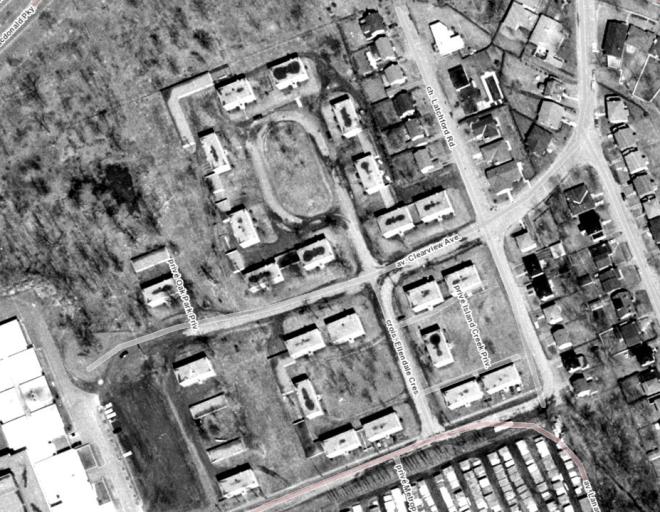 Riverside Terrace 1965.