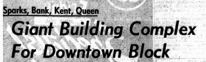 Headline in the Journal. Source: Ottawa Journal, June 29, 1967, p. 1.