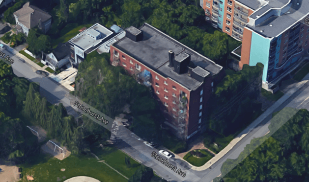 The Burnstone Apartments, 10 Burnside Avenue. Image: Google Maps.