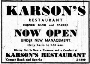 Under New Management. Source: Ottawa Journal, February 2, 1948, p. 21.