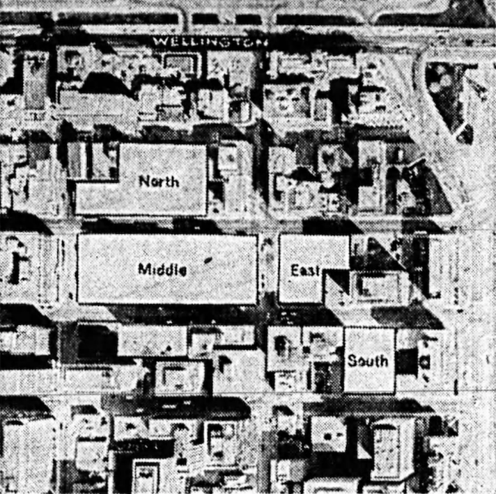 The Canada Centre lands represented an impressive assembly. Source: Ottawa Journal, March 7, 1973, p. 4.