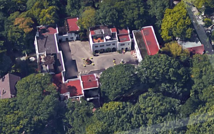 El Pueblo from above, 2015. Image: Google Maps.