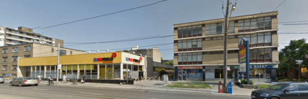 Kinhurst Plaza, May 2016. Image: Google Maps.