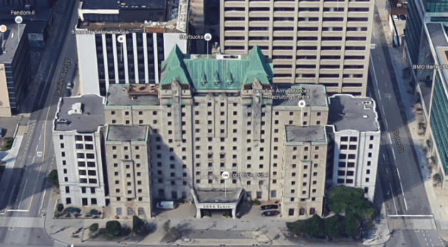 The Lord Elgin, lookin' good at 75. Image: Google Maps.