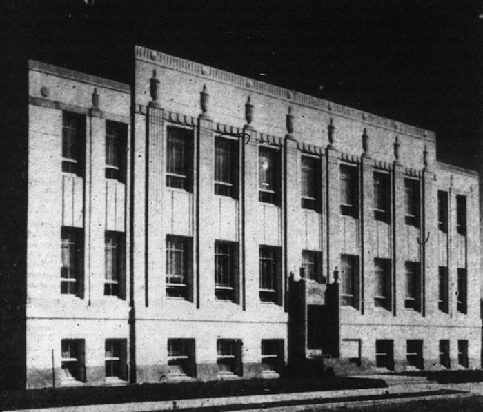 The Tisdale Municipal Building as it appeared in the local papers. Source: Porcupine Advance, September 26, 1940, p. 5.
