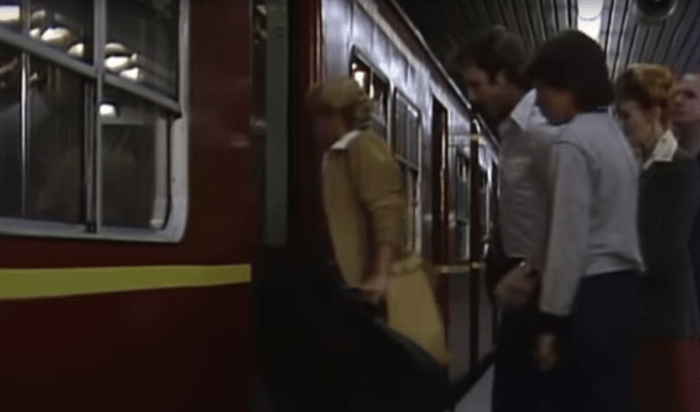 Filmed in 1983, aired in 1984, the Littlest Hobo solved a real caper in the fifth season episode, Ghost Station.