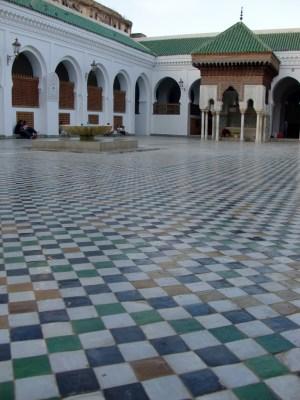 Photo by Anderson sady, Al-Karaouine University, Wikimedia, June 2010